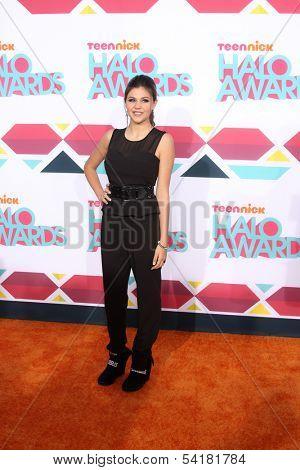 LOS ANGELES - NOV 17:  Amber Montana at the TeenNick Halo Awards at Hollywood Palladium on November 17, 2013 in Los Angeles, CA