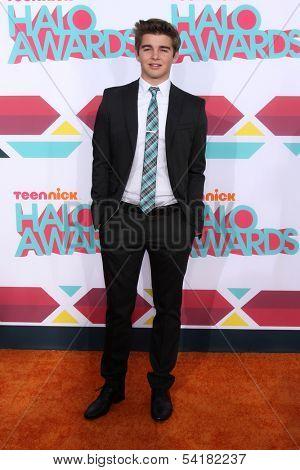 LOS ANGELES - NOV 17:  Jack Griffo at the TeenNick Halo Awards at Hollywood Palladium on November 17, 2013 in Los Angeles, CA