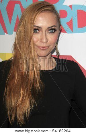 LOS ANGELES - NOV 17:  Brandi Cyrus at the TeenNick Halo Awards at Hollywood Palladium on November 17, 2013 in Los Angeles, CA