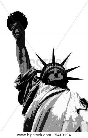 Silhouette Liberty