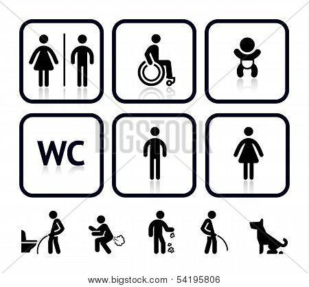 Toilet icons