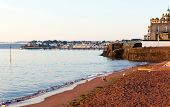 Paignton Torbay Devon England near tourist destinations of Torquay and Brixham poster