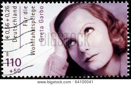 Greta Garbo Stamp