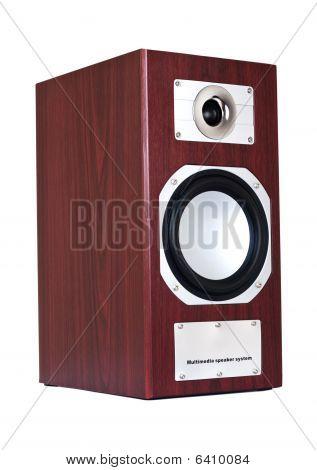 Brown Speaker System