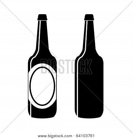 Bottle Of Beer Vector.eps