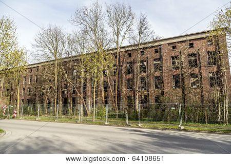 Old German Ww2 V2 Rocket-factory