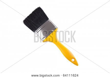 New paintbrush isolated on white