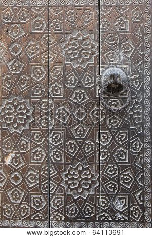 embellished door