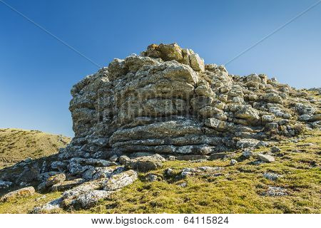 Outcropping At The Top