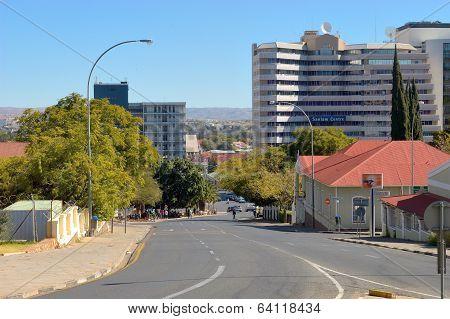 Street, Scene, Windhoek, Namibia