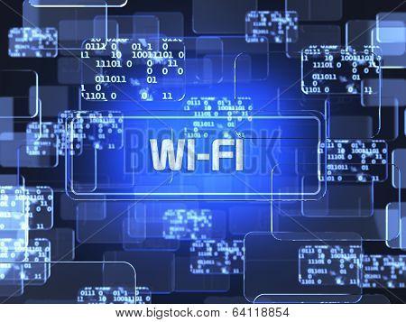 Wi-fi Screen Concept