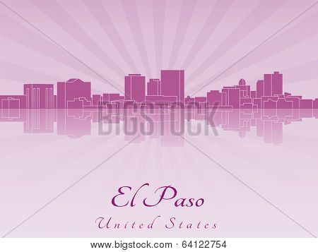 El Paso Skyline In Purple Radiant Orchid
