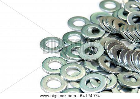Pile Of Flat Washers