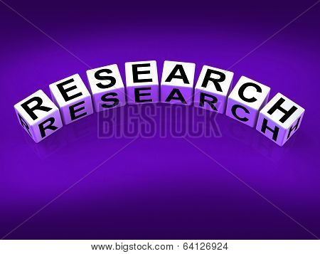 Research Blocks Show Experimental Analysis And Hypothesis