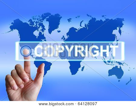 Copyright Map Means International Patented Intellectual Property