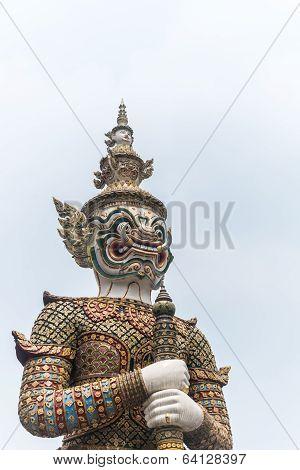 Thai Giant At Wat Phra Keaw