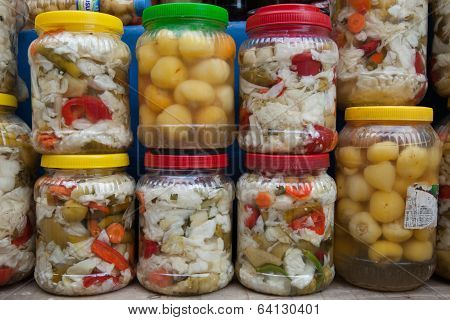 pickled produce