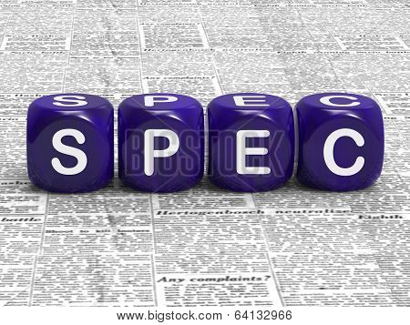 Spec Dice Mean Specification Requirements And Details