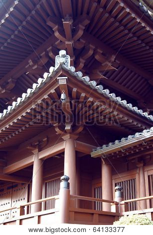 Chinese Chi Lin Nunnery Roof Details