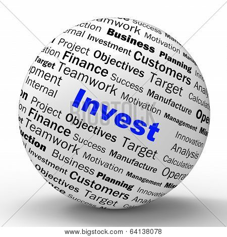 Invest Sphere Definition Shows Put Money In Real State Or Invest