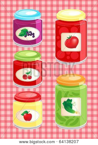 Jams And Pickled Vegetables