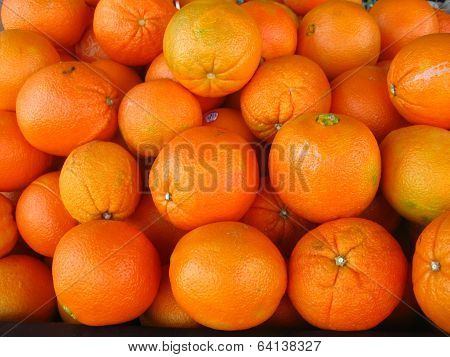 a bunch of grapefruits