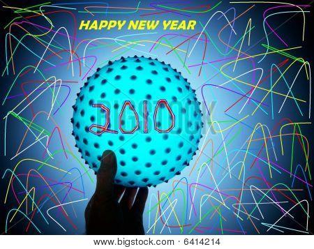 Happy New Year Ball