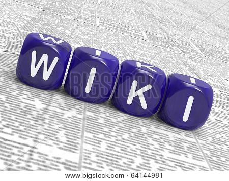 Wiki Dice Show Learning Knowledge And Encyclopaedia