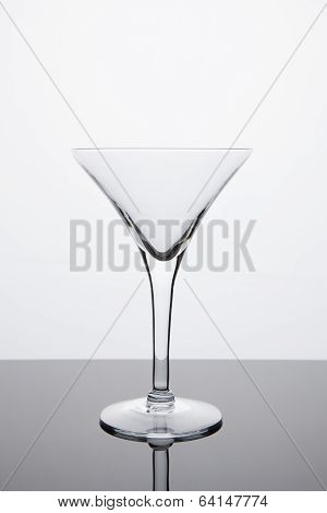Simplicity - Empty Martini Glass