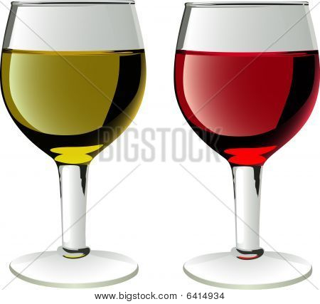 glasses of wines