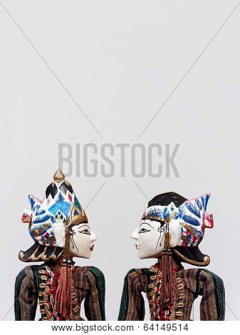 Wayang Golek Indonesian puppet