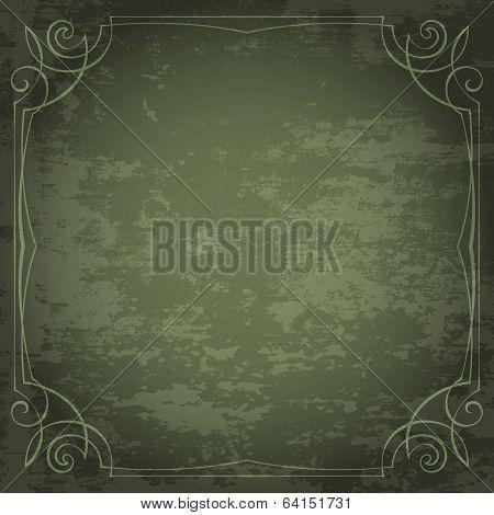 Vintage Vector Frame