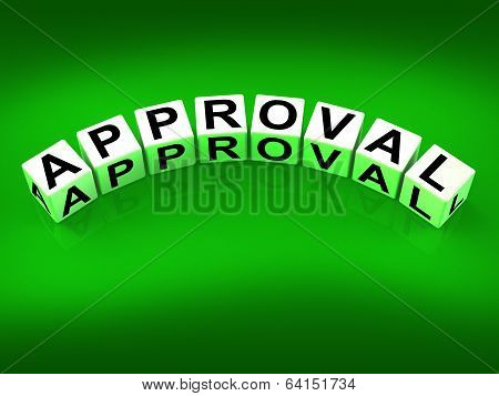 Approval Blocks Show Validation Acceptance And Approved