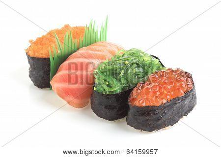 Nigiri And Gunkan Sushi