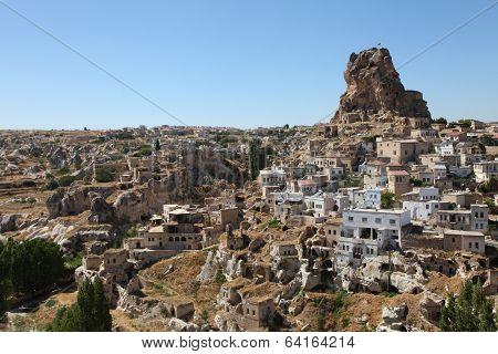 uçhisar, cappadocia, turkey