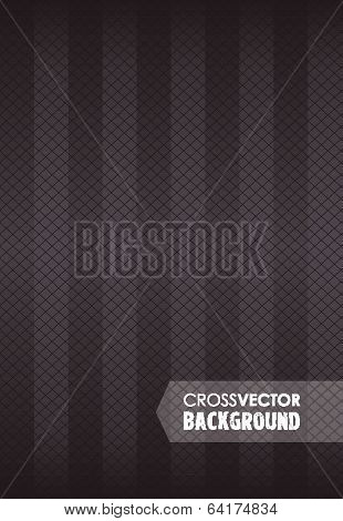 cross line black background