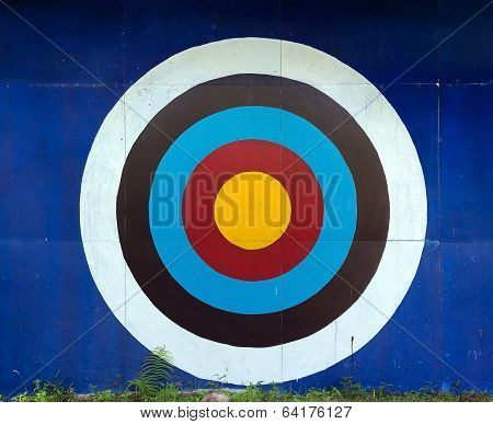 Standard Target For Decoration On Wall