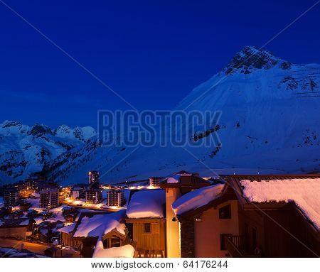 Ski Resort Tignes