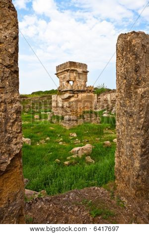 Syria - Tartus Ancient Place Amrit