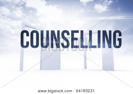 The word counselling against opening doors in sky