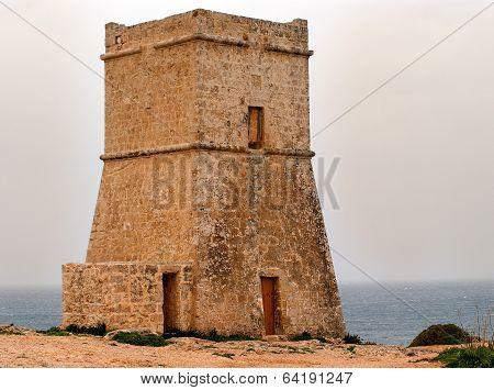 Malta watch tower
