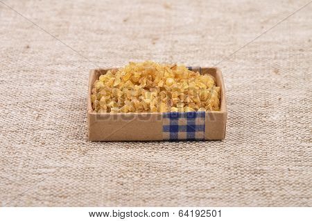 Bulgur On Linen