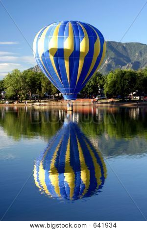 Hot Air Ballooning Reflections