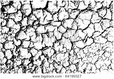 vector cracked land texture