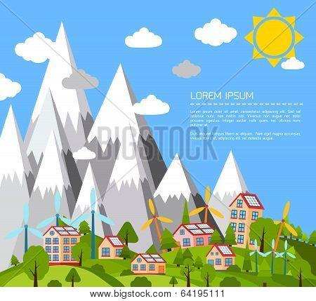 Green world poster