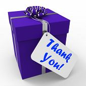 image of appreciation  - Thank You Gift Meaning Grateful And Appreciative - JPG