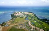 image of northeast  - Aerial view of the Northeast side of Puerto Rico - JPG