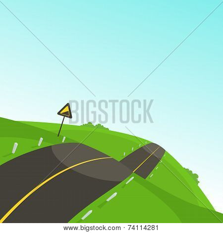 Steep Road