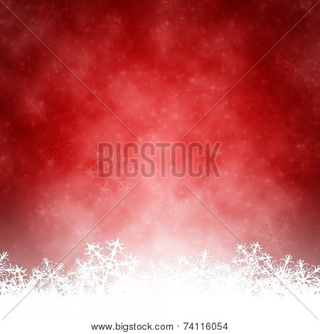 An image of a nice red christmas background