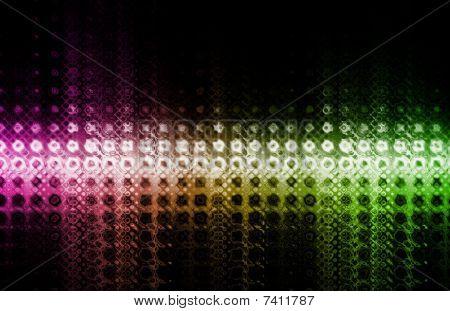 Trendy Digital Abstract